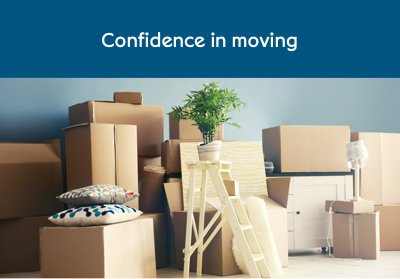 Confidence in moving