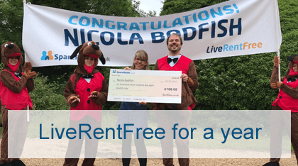 LiveRentFree for a year