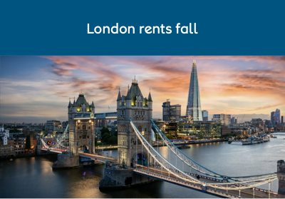 London rents fall