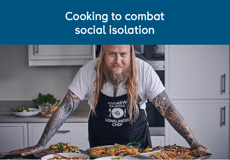 Cooking to combat social isolation
