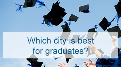 Which city is best for graduates